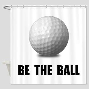 Be Ball Golf Shower Curtain