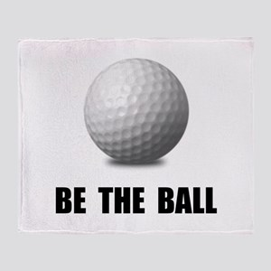 Be Ball Golf Throw Blanket