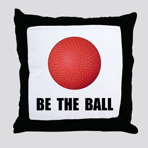 Be Ball Kickball Throw Pillow