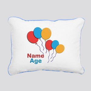 CUSTOMIZE Happy Birthday Any Age Rect. Pillow