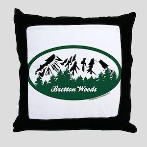 Bretton Woods State Park Throw Pillow