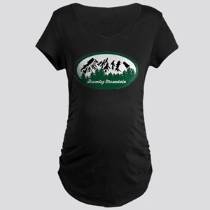 Bromley Mountain State Park Maternity T-Shirt