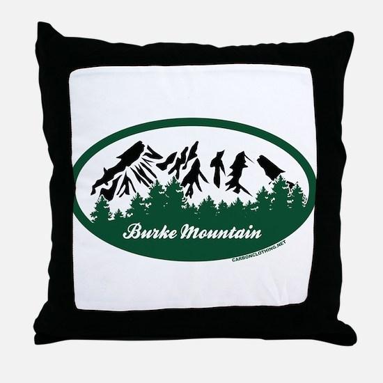 Burke Mountain State Park Throw Pillow