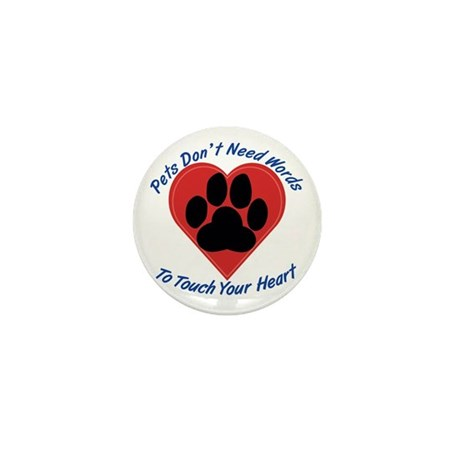 Touch Your Heart Mini Button