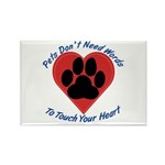 Touch Your Heart Rectangle Magnet (10 pack)