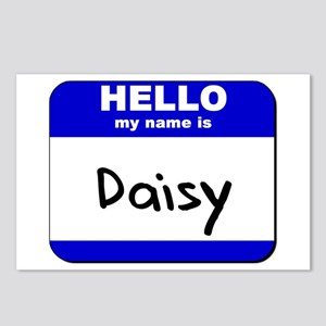 hello my name is daisy  Postcards (Package of 8)