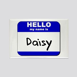 hello my name is daisy Rectangle Magnet