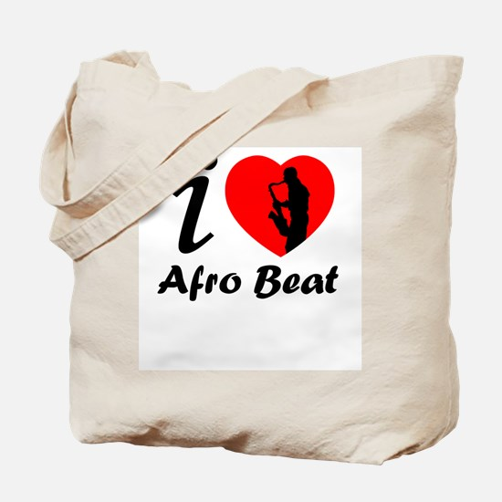 I love Afro beat Tote Bag