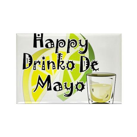 Drinko De Mayo Rectangle Magnet (100 pack)