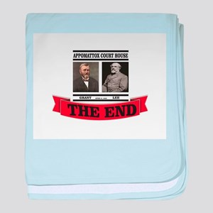 the end at appomattox baby blanket