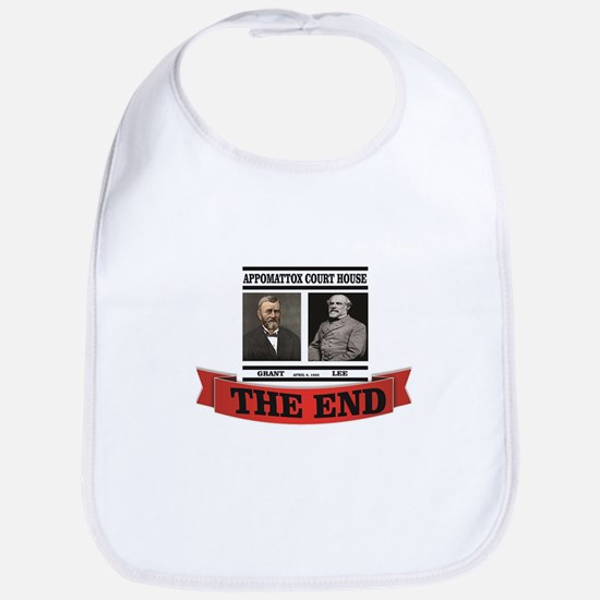 the end at appomattox Baby Bib
