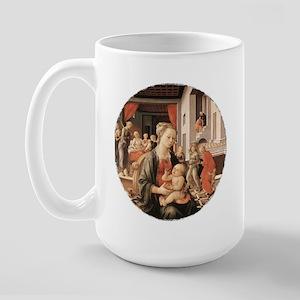 Virgin and Child Large Mug