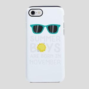Summer Boys in NOVEMBER iPhone 7 Tough Case