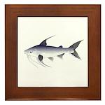 Gafftopsail sea catfish Framed Tile