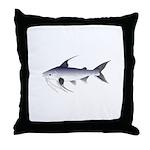 Gafftopsail sea catfish Throw Pillow