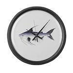 Gafftopsail sea catfish Large Wall Clock