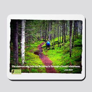 Forest Wilderness Mousepad