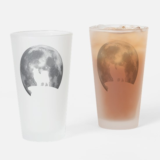 Cute Swedish lapphund Drinking Glass