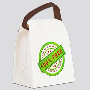 Free of Charge Canvas Lunch Bag