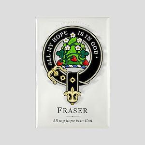 Clan Fraser Rectangle Magnet
