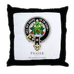 Clan Fraser Throw Pillow