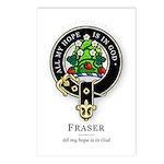 Clan Fraser Postcards (Package of 8)