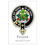 Clan Fraser Large Poster