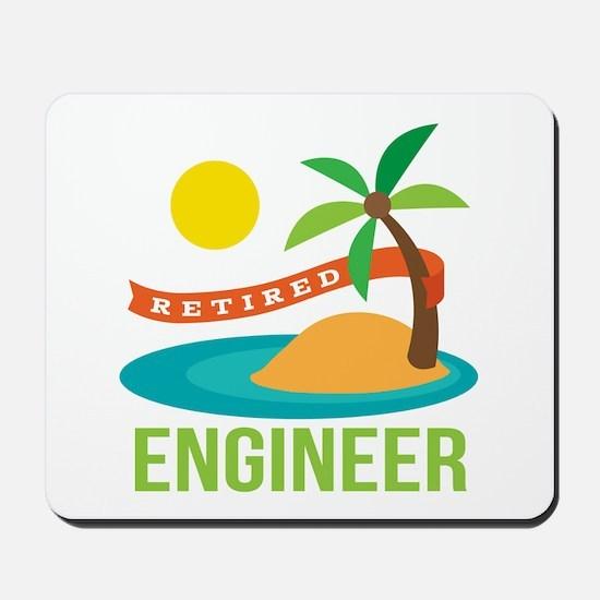 Retired Engineer Mousepad