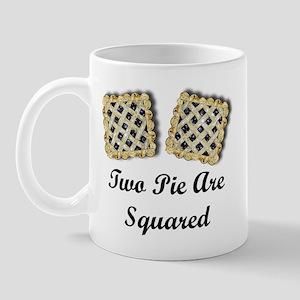 2 Pi R Squared Mug