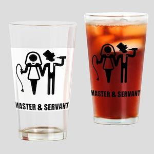 Master & Servant (Wedding) Drinking Glass