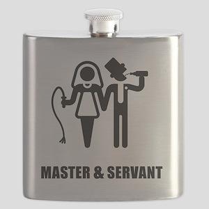 Master & Servant (Wedding) Flask