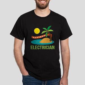 Retired Electrician Dark T-Shirt