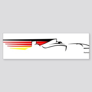 F1 German PD Bumper Sticker