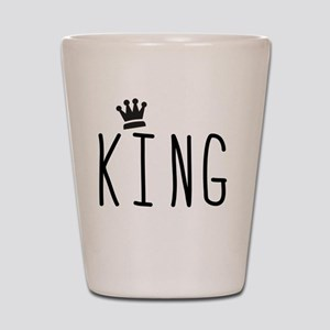 King Shot Glass