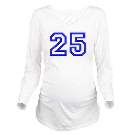 #25 Long Sleeve Maternity T-Shirt