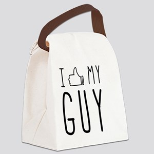 I 'Thumbs Up' My Guy Canvas Lunch Bag