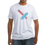 Twisted Obama 08 Fitted T-Shirt
