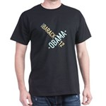 Twisted Obama 08 Black T-Shirt