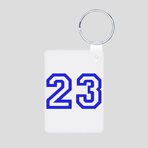 #23 Aluminum Photo Keychain