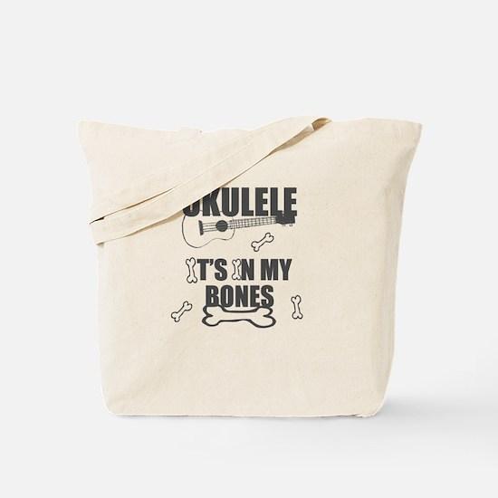 Funny Uke Bones Tote Bag