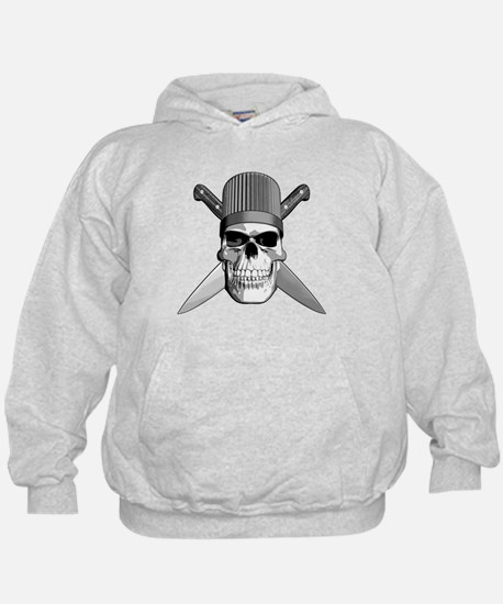Skull Chef Knives Hoodie