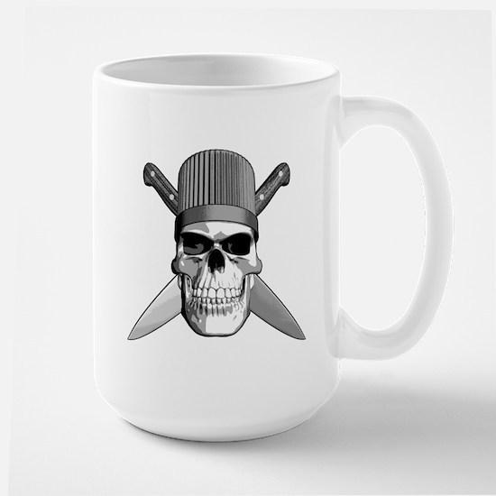 Skull Chef Knives Mugs
