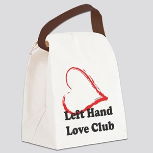 Left Hand Love Club Canvas Lunch Bag