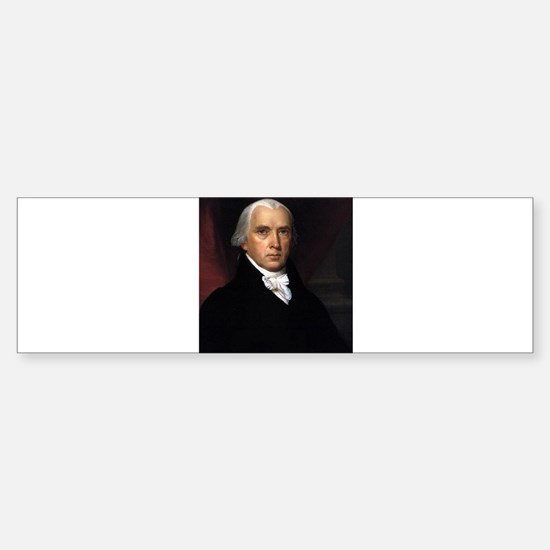James Madison Sticker (Bumper)