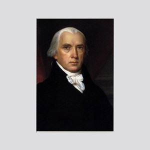 James Madison Rectangle Magnet