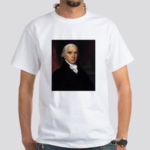 James Madison White T-Shirt