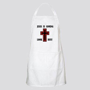 JESUS IS COMING BBQ Apron