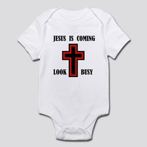 JESUS IS COMING Infant Bodysuit