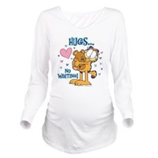 Hugs...No Waiting! Long Sleeve Maternity T-Shirt