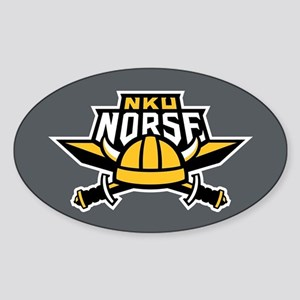 NKU Norse Sticker (Oval)